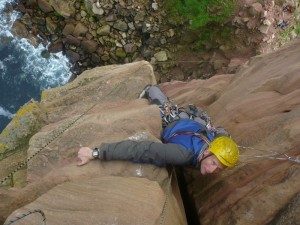 Climbing the Old Man of Hoy