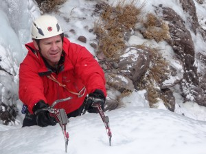 Ice Climbing on Toubkal Morocco