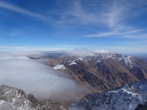 CLIMBING toubkal 4000m Highest peak in Atlas mnts Morocco